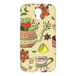 Colored Afternoon Tea Pattern Samsung Galaxy S4 I9500/I9505 Hardshell Case