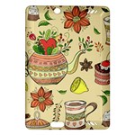 Colored Afternoon Tea Pattern Amazon Kindle Fire HD (2013) Hardshell Case