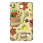 Colored Afternoon Tea Pattern Samsung Galaxy Tab 4 (7 ) Hardshell Case