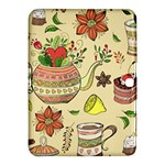 Colored Afternoon Tea Pattern Samsung Galaxy Tab 4 (10.1 ) Hardshell Case