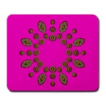 Sweet Hearts In  Decorative Metal Tinsel Large Mousepads
