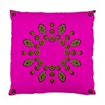 Sweet Hearts In  Decorative Metal Tinsel Standard Cushion Case (One Side)