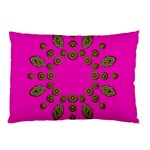 Sweet Hearts In  Decorative Metal Tinsel Pillow Case