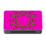 Sweet Hearts In  Decorative Metal Tinsel Memory Card Reader with CF
