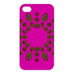 Sweet Hearts In  Decorative Metal Tinsel Apple iPhone 4/4S Hardshell Case