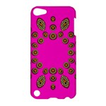 Sweet Hearts In  Decorative Metal Tinsel Apple iPod Touch 5 Hardshell Case