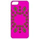 Sweet Hearts In  Decorative Metal Tinsel Apple iPhone 5 Classic Hardshell Case