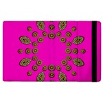 Sweet Hearts In  Decorative Metal Tinsel Apple iPad 3/4 Flip Case
