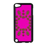 Sweet Hearts In  Decorative Metal Tinsel Apple iPod Touch 5 Case (Black)