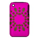 Sweet Hearts In  Decorative Metal Tinsel iPhone 3S/3GS