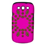 Sweet Hearts In  Decorative Metal Tinsel Samsung Galaxy S III Classic Hardshell Case (PC+Silicone)