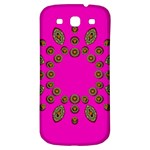Sweet Hearts In  Decorative Metal Tinsel Samsung Galaxy S3 S III Classic Hardshell Back Case