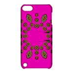 Sweet Hearts In  Decorative Metal Tinsel Apple iPod Touch 5 Hardshell Case with Stand