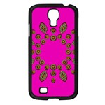 Sweet Hearts In  Decorative Metal Tinsel Samsung Galaxy S4 I9500/ I9505 Case (Black)