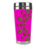 Sweet Hearts In  Decorative Metal Tinsel Stainless Steel Travel Tumblers