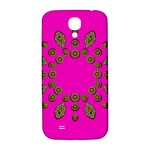 Sweet Hearts In  Decorative Metal Tinsel Samsung Galaxy S4 I9500/I9505  Hardshell Back Case