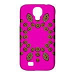 Sweet Hearts In  Decorative Metal Tinsel Samsung Galaxy S4 Classic Hardshell Case (PC+Silicone)