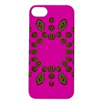 Sweet Hearts In  Decorative Metal Tinsel Apple iPhone 5S/ SE Hardshell Case