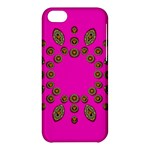Sweet Hearts In  Decorative Metal Tinsel Apple iPhone 5C Hardshell Case