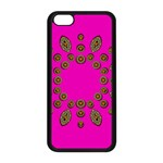 Sweet Hearts In  Decorative Metal Tinsel Apple iPhone 5C Seamless Case (Black)
