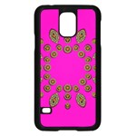 Sweet Hearts In  Decorative Metal Tinsel Samsung Galaxy S5 Case (Black)
