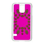Sweet Hearts In  Decorative Metal Tinsel Samsung Galaxy S5 Case (White)