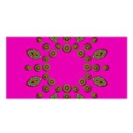 Sweet Hearts In  Decorative Metal Tinsel Satin Shawl