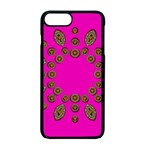 Sweet Hearts In  Decorative Metal Tinsel Apple iPhone 7 Plus Seamless Case (Black)
