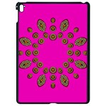 Sweet Hearts In  Decorative Metal Tinsel Apple iPad Pro 9.7   Black Seamless Case