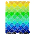 art deco rain bow Apple iPad 3/4 Hardshell Case (Compatible with Smart Cover)