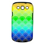 art deco rain bow Samsung Galaxy S III Classic Hardshell Case (PC+Silicone)