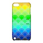 art deco rain bow Apple iPod Touch 5 Hardshell Case with Stand