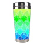 art deco rain bow Stainless Steel Travel Tumblers