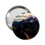 Italy Valley Canyon Mountains Sky 2.25  Handbag Mirrors