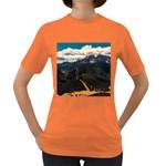 Italy Valley Canyon Mountains Sky Women s Dark T-Shirt