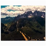 Italy Valley Canyon Mountains Sky Jewelry Bags