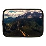 Italy Valley Canyon Mountains Sky Netbook Case (Medium)