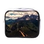 Italy Valley Canyon Mountains Sky Mini Toiletries Bags
