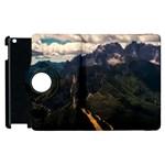 Italy Valley Canyon Mountains Sky Apple iPad 2 Flip 360 Case