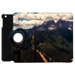 Italy Valley Canyon Mountains Sky Apple iPad Mini Flip 360 Case