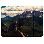 Italy Valley Canyon Mountains Sky Samsung Galaxy Tab 7  P1000 Flip Case