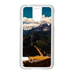 Italy Valley Canyon Mountains Sky Samsung Galaxy S5 Case (White)