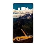 Italy Valley Canyon Mountains Sky Samsung Galaxy A5 Hardshell Case