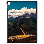 Italy Valley Canyon Mountains Sky Apple iPad Pro 9.7   Black Seamless Case