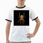 Insect Macro Spider Colombia Ringer T-Shirts