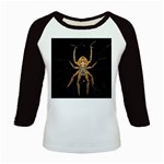 Insect Macro Spider Colombia Kids Baseball Jerseys