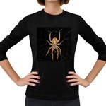 Insect Macro Spider Colombia Women s Long Sleeve Dark T-Shirts