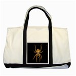Insect Macro Spider Colombia Two Tone Tote Bag