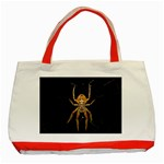 Insect Macro Spider Colombia Classic Tote Bag (Red)