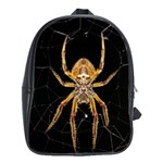 Insect Macro Spider Colombia School Bag (Large)